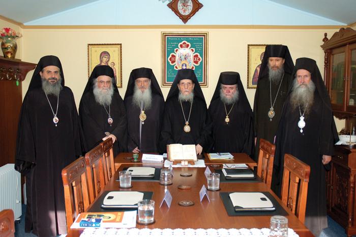 Священный Синод в сопротивление
